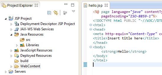 8_Writing JSP File