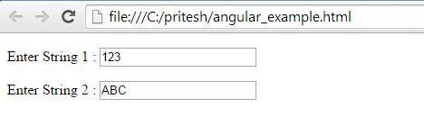 angularjs controller example 1