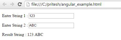 angularjs controller example 2