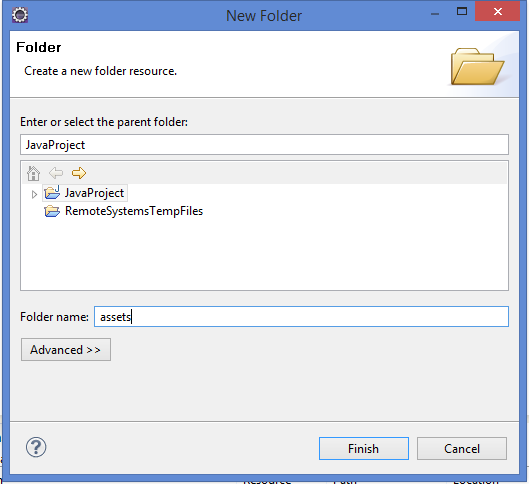 Naming folder name